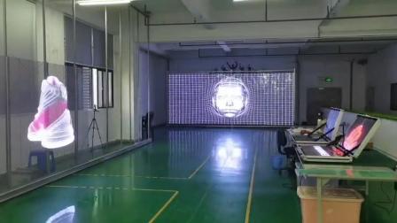 裸眼3D大海浪创意商显~   LED透明屏冰屏梦幻效果