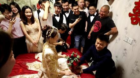 2021.5.1婚礼接亲化妆车队视频