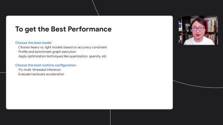 Optimize your TensorFlow Lite models   Session