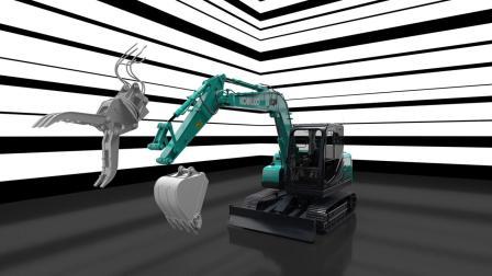 神钢SK75-11挖掘机模擬介紹
