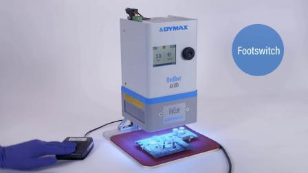 光固化设备--BlueWave® AX-550 2.0版本LED面光源(中文字幕)