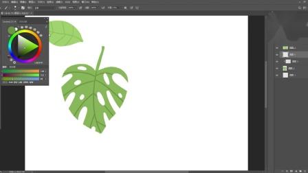【每天一个插画技巧】如何快速画出植物复杂的形状?