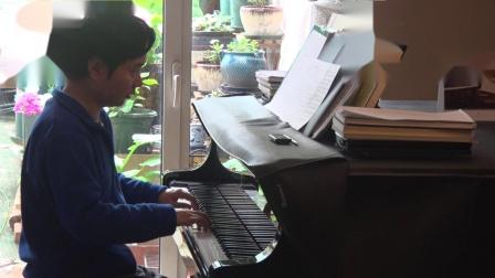 沈文裕演奏巴赫《赋格的艺术》十度卡农 从容版