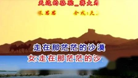天边的骆驼_蒋大为,伴奏,对唱版,大字幕。