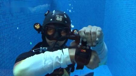 D620V 水下摄影手电筒 水下实测