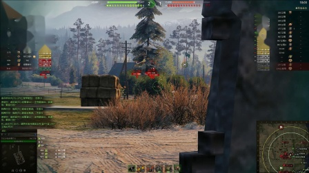 坦克世界 国服精彩岭土战火力魔王指挥
