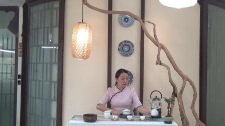 学茶艺 茶艺师培训班 茶艺基础 天晟166