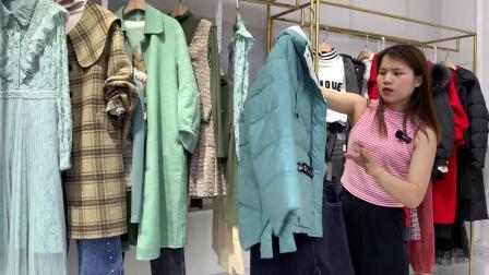 广州魔摩美名作品牌秋冬装女装折扣库存尾货直播货源混批走份