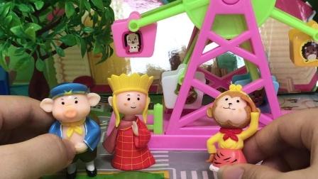 玩具小故事:沙和尚想吃糖果,孙悟空想办法