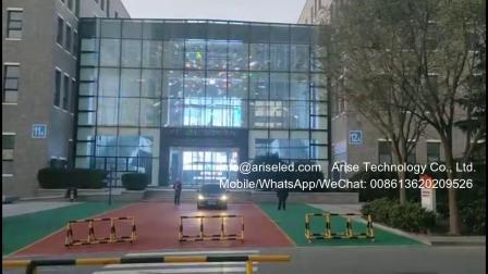 商场户外LED透明屏,玻璃窗LED透明墙,透明led显示屏,全彩色透明led屏,显示屏LED贴片,led视频墙,玻璃led显示屏,