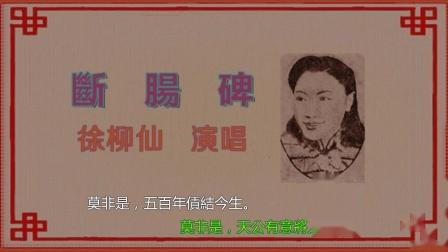 徐柳仙-斷腸碑