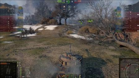 坦克世界 07RH无限HE奥义流与705A纯银币蛋万伤