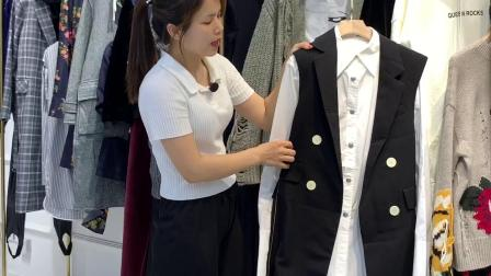 【摩安珂】品牌秋冬装女装折扣走份