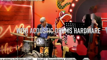 EFNOTE 5 Electronic Drums Live with Pablo Calzado