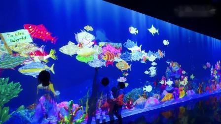 彩绘水族馆──与世界相连 / Sketch Aquarium: Connected World