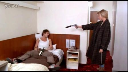 女杀手消音枪杀 - 灭口爆头