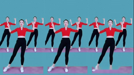 长视频健身操《陪你万水千山》完整版减肥操,暴汗全身减脂操!