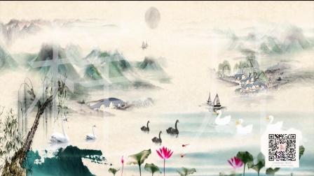 少儿舞蹈《鹅之歌》LED背景视频YXZG2021053101