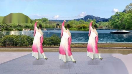 兰州莲花广场舞【醉美湘湖八千年】编舞:莲花   视频制作:龙虎影音