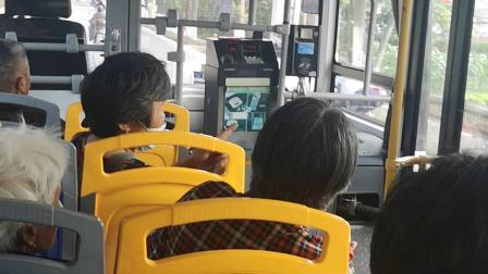松江公交:松江60路SXC-20D-279,松江汽车东站→车墩中心站全程