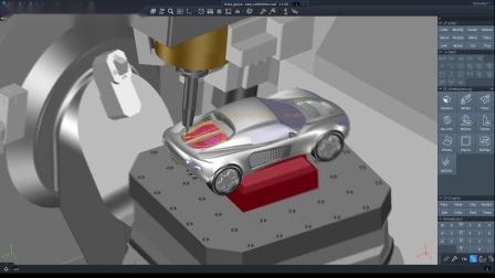 超精、高速!Tebis与Roeders、Aura倾力打造的高品质汽车模型