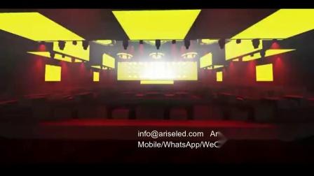 结合LED显示屏的时尚机械舞台艺术,将表演推向世界。LED演艺设备,LED租赁显示屏,LED舞台显示屏,冬青光电,13620209526