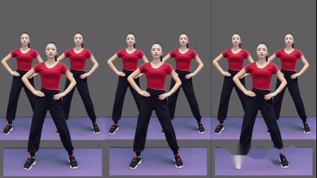 长视频暴汗操《没事少扯闲》完整版健身操,单人广场舞!