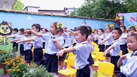 01  老师和宝宝们一起热身运动