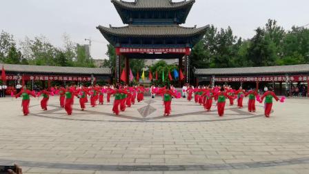 广场舞:咱们的领袖毛泽东