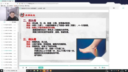 刘涛中医五绝挑羊毛疔奇穴针灸治偏头痛