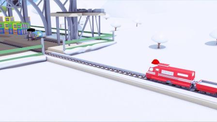 热力火车特洛伊大战雪怪