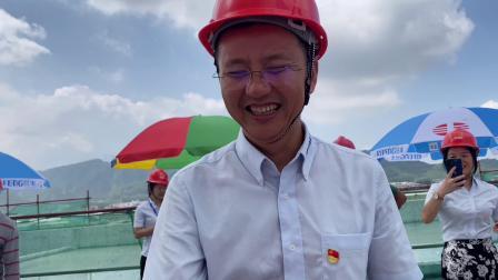 海目星(江门)激光智能制造产业园二期厂房研发车间喜封金顶