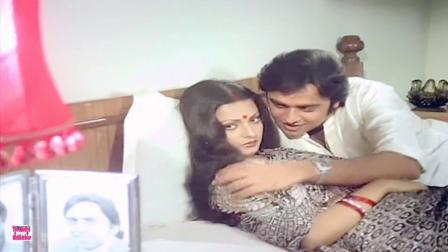 【宝莱坞怀旧】【瑞卡女神】女星 Rekha 70年代电影《家》插曲 Phir Wohi Raat Hain-Ghar