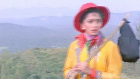 【舞神歌舞】宝莱坞90年代初电影《凯珊和甘海亚》Madhuri Dixit 歌舞插曲 Medley-Kishen Kanhaiya