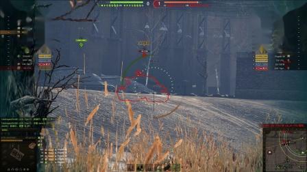 坦克世界 4运顶住三线压力小技巧打了1.2W输出