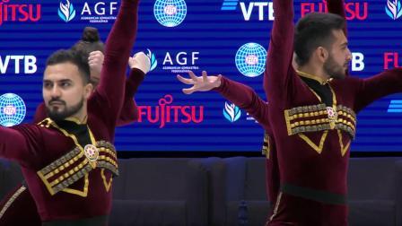 2021健美操世锦赛 有氧舞蹈 决赛 冠军