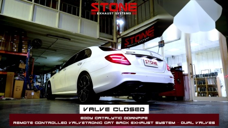 Mercedes W213 M276 E43 AMG / Stone Turbo-back Exhaust System
