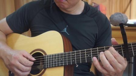 吉他指弹--《太委屈》