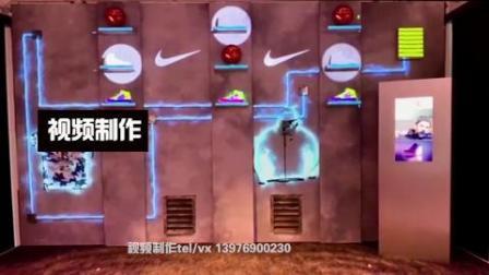 13.全息沉浸式墙面投影互动视频制作商品投影视频三维视频