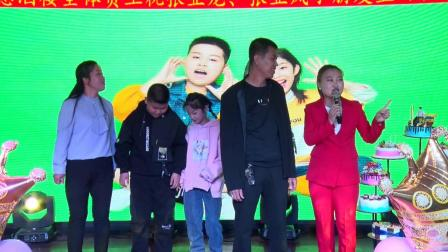 临县林家坪镇张家焉村张亚龙 张亚凤12岁生日典礼