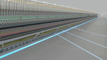 为中国市场定制的立达环锭纺纱系统