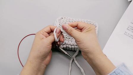 【编织人生】北欧风家居抱枕纸巾袋---第三集