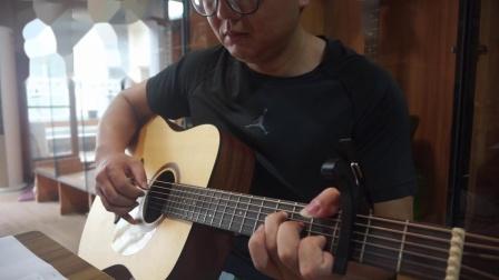 吉他指弹--洛天依 / 刘雨Key版《吹梦到西洲》