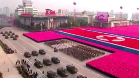 重装备军乐联奏 朝鲜人民军综合军乐队.flv