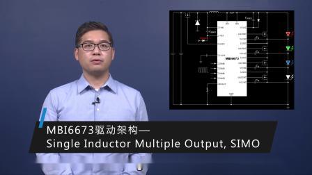 MBI6673 DC/DC LED照明驱动芯片产品介绍 | 舞台灯 | 车用警示灯 | SIMO架构 | 高压 | 高功率、高压、多通道降压芯片