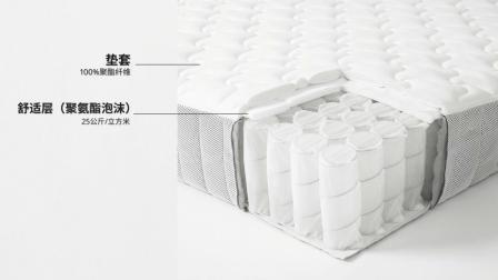 宜家胡恩德沃格系列床垫