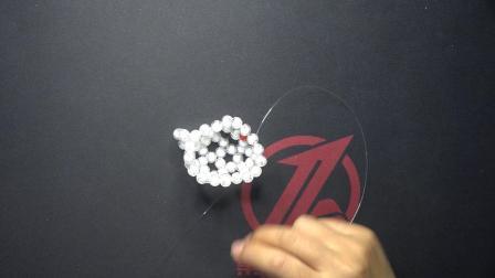民族风KT猫水晶挂件