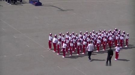 《队列体操》比赛 五年四班和五年二班岫光小学庆祝建党一百周年暨第十六届艺术节