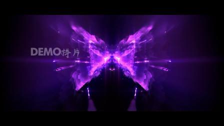 d598 4K画质绚丽紫色极品炫酷动感节奏光线线条霓虹灯炫酷灯光动感舞蹈模特走拉丁舞大屏幕舞台LED背景视频素材 歌曲配乐视频 pr素材 ae素材