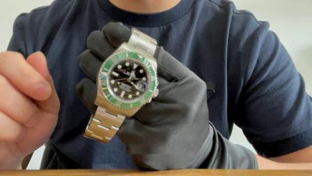腕表小评测  劳力士新款绿水鬼126610LV